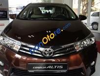Bán Toyota Corolla altis AT đời 2017, màu nâu