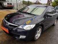 Cần bán lại xe Honda Civic 2.0AT sản xuất 2008, màu đen