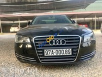 Bán Audi A8 L đời 2010, màu đen, nhập khẩu nguyên chiếc