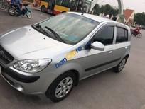 Bán Hyundai Getz MT sản xuất 2010, màu bạc số sàn, giá tốt