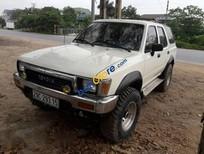 Bán ô tô Toyota 4 Runner năm sản xuất 1991, màu trắng, nhập khẩu nguyên chiếc