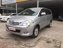Cần bán lại xe Toyota Innova G đời 2011, màu bạc, giá 490tr