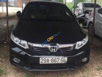 Bán ô tô Honda Civic 1.8 MT đời 2012, màu đen