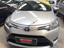 Bán Toyota Vios 1.5E năm sản xuất 2015, màu bạc số sàn, giá 485tr