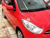 Bán Hyundai i10 1.2AT sản xuất năm 2011, màu đỏ, nhập khẩu nguyên chiếc số tự động