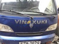 Bán xe tải ben hiệu Vinaxuki sản xuất 2010, màu xanh lam