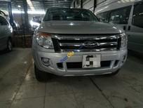 Bán Ford Ranger XLT năm sản xuất 2013, màu bạc, nhập khẩu nguyên chiếc số sàn