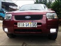 Bán Ford Escape 2.0 năm 2003, màu đỏ còn mới giá cạnh tranh