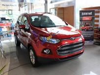 Bán Ford EcoSport Titanium 1.5L AT đời 2017, màu đỏ, giá tốt