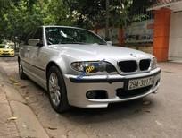 Cần bán BMW 3 Series 318i năm 2004, màu bạc, nhập khẩu