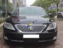 Cần bán gấp Lexus LS 460L sản xuất 2007, màu đen, nhập khẩu