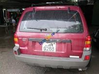 Bán xe Ford Escape XLT sản xuất 2002, màu đỏ chính chủ, 188tr
