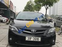 Cần bán lại xe Toyota Corolla altis 2.0 AT sản xuất 2010, màu đen