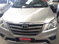 Bán ô tô Toyota Innova 2.0E 2014, màu bạc, giá tốt