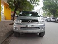 Cần bán xe Toyota Fortuner 2.5G đời 2009, màu bạc, chính chủ