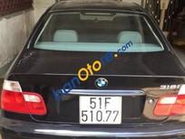 Cần bán lại xe BMW 3 Series 318i đời 2002, màu đen, xe nhập số tự động, giá chỉ 230 triệu