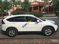 Cần bán Honda CR V 2.0 đời 2013, màu trắng