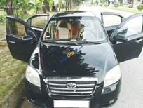 Cần bán Daewoo Gentra năm 2008, màu đen, giá tốt