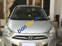 Bán gấp Hyundai i10 đời 2013, màu bạc, nhập khẩu