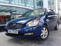 Bán xe Hyundai Verna 1.4 AT sản xuất 2009, màu xanh lam, nhập khẩu nguyên chiếc còn mới