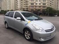 Bán ô tô Toyota Wish 2.0 đời 2009, màu bạc, nhập khẩu nguyên chiếc, giá tốt