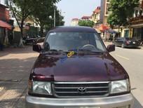 Bán Toyota Zace GL đời 2002, màu đỏ