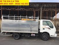 Bán xe 2.4 tấn trả góp, xe Kia K165 2.4 tấn, vào thành phố