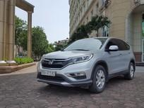 Bán Honda CRV 2.0 mầu bạc, xe đời 2016 đẹp không có va chạm, tên công ty