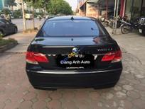 Cần bán BMW 7 Series 750Li đời 2005, màu đen, nhập khẩu nguyên chiếc