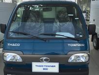 Bán xe Thaco Towner 800 ( 9 tạ ) tại Hải Phòng, hỗ trợ trả góp