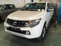 Cần bán xe Mitsubishi Triton AT 4x2 Mivec 2017, màu trắng, có bán trả góp liên hệ 0906.884.030