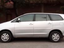 Nhà cần bán Toyota Innova 2.0G đời 2010, màu bạc, 393 triệu, chính chủ từ đầu.