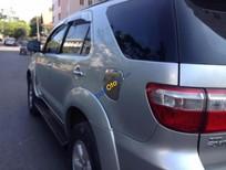 Bán Toyota Fortuner G 2009, màu bạc xe gia đình, giá chỉ 582 triệu