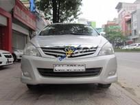 Cần bán lại xe Toyota Innova 2.0G đời 2009, màu bạc ít sử dụng, giá 375tr