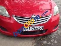 Bán Toyota Vios đời 2010, màu đỏ