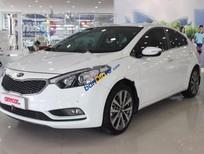 Bán Kia K3 1.6 AT đời 2015, màu trắng số tự động, giá chỉ 564 triệu