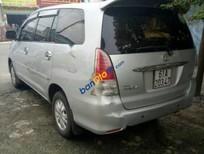 Cần bán lại xe Toyota Innova G đời 2009, màu bạc xe gia đình, giá chỉ 445 triệu