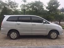 Chính chủ cần bán Toyota Innova 2.0G 2010, màu bạc, giá 380tr