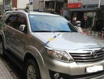 Bán ô tô Toyota Fortuner V AT đời 2013, màu bạc, nhập khẩu chính chủ, 635tr