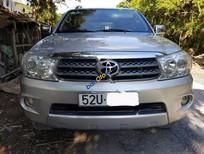Bán Toyota Fortuner 2.5 G năm 2009, màu bạc xe gia đình, giá 635tr