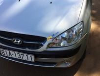 Bán Hyundai Getz 1.1 MT đời 2010, màu bạc, nhập khẩu nguyên chiếc xe gia đình