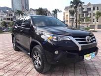 Bán xe Toyota Fortuner 2.4G 4x2 MT sản xuất 2017, màu đen, nhập khẩu