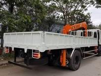 Xe tải cẩu HINO - tải 6,5t - thùng dài 6,5m - cẩu 5 tấn 4 khúc nhập khẩu Hàn Quốc