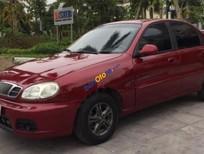 Cần bán Daewoo Lanos SX đời 2002, màu đỏ còn mới