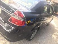 Bán Daewoo Gentra đời 2009, màu đen xe gia đình, giá 175tr