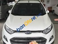 Bán ô tô Ford EcoSport AT đời 2015, màu trắng giá cạnh tranh