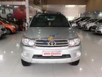 Bán Toyota Fortuner 2.5G đời 2010, màu bạc