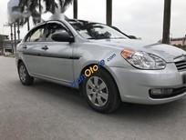 Bán gấp Hyundai Verna đời 2008, màu bạc, nhập khẩu