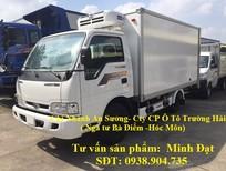 Xe tải Thaco 2T4 vào thành phố, xe tải Kia K165 2 tấn 4 mới đời 2017 giá tốt nhất