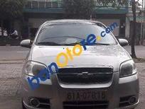 Chính chủ bán Chevrolet Aveo sản xuất 2012, màu bạc